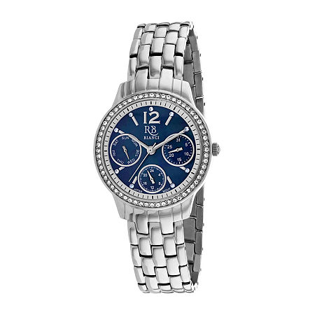 Roberto Bianci Womens Silver Tone Stainless Steel Bracelet Watch-Rb0841, One Size , No Color Family