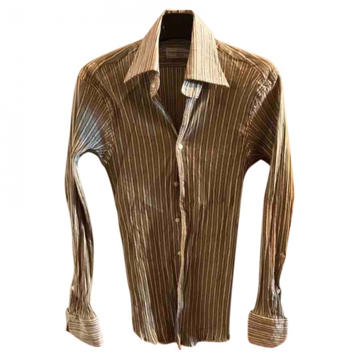 Francesco Smalto \N Hemden in  Gruen Baumwolle