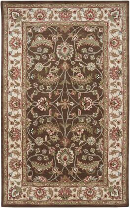Caesar CAE-1003 5' x 8' Rectangle Traditional Rug in