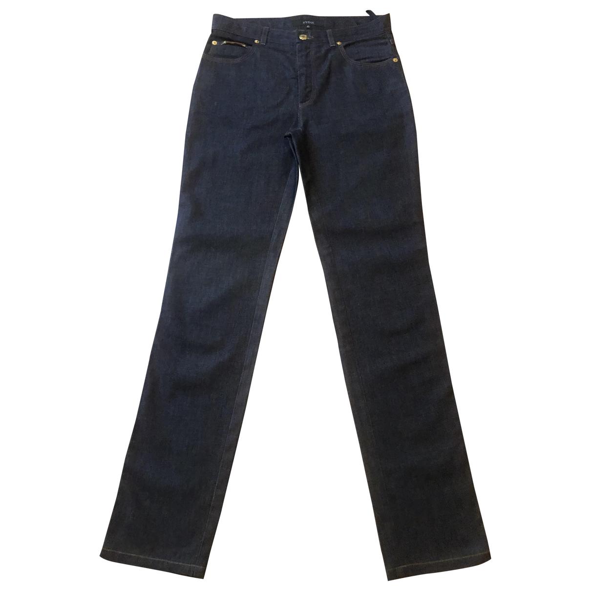 Gucci N Blue Denim - Jeans Trousers for Women 40 IT