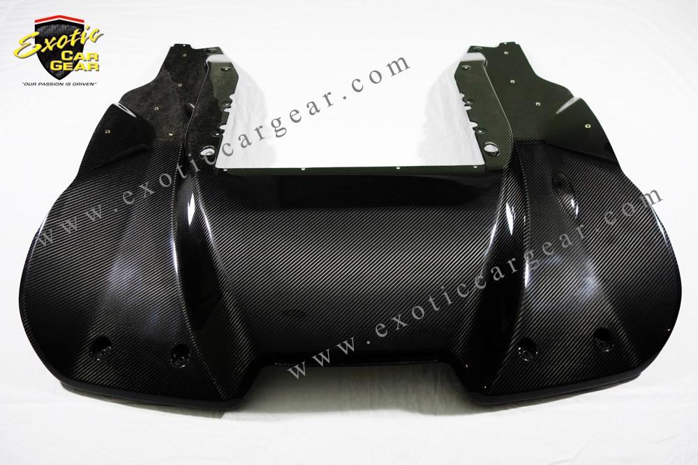 Exotic Car Gear ECG-MCL-OERD Carbon Fiber OEM Rear Diffuser McLaren 650S/MP4-12C