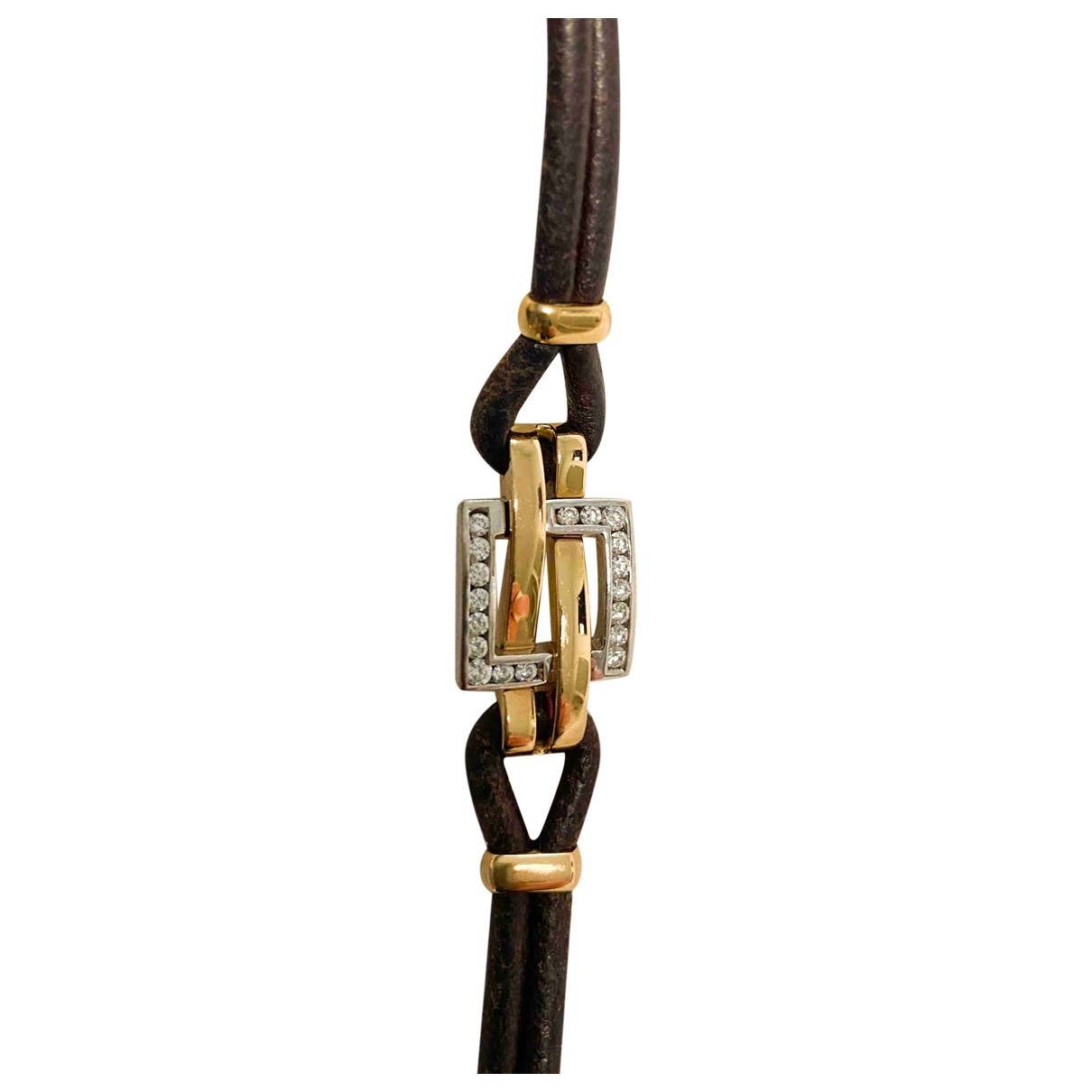 Non Signe / Unsigned \N Armband in  Gold Rosegold