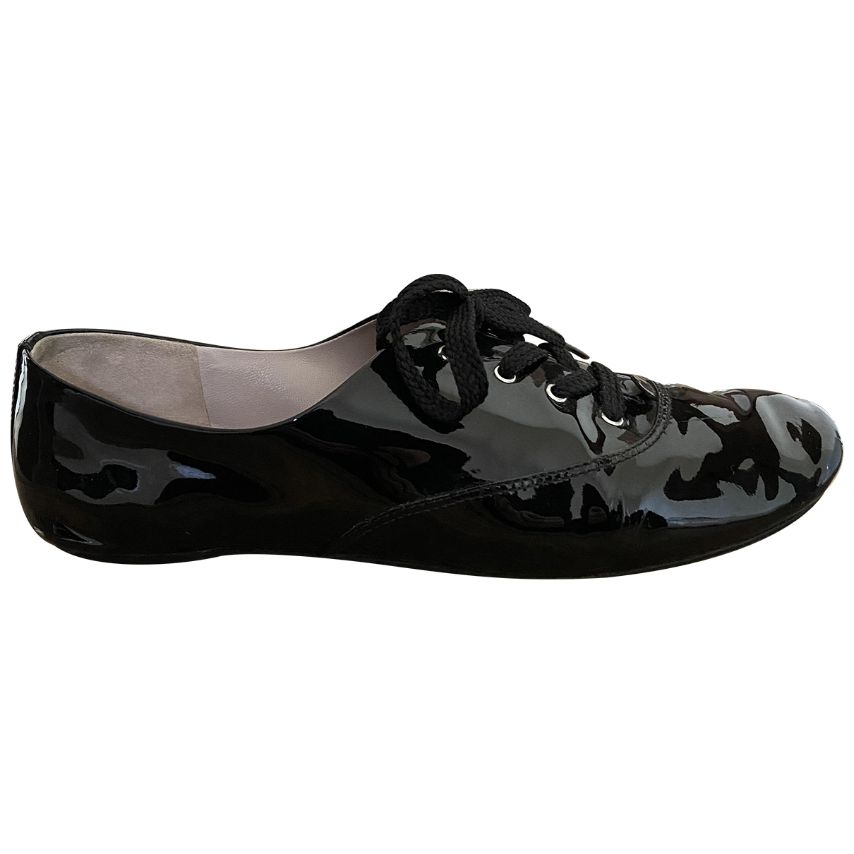 Marc By Marc Jacobs \N Black Patent leather Lace ups for Women 40 EU