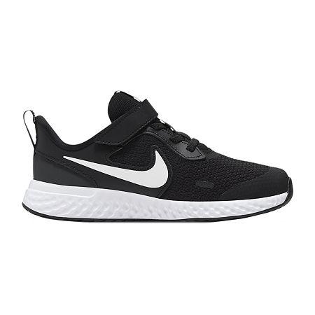 Nike Nk Revolution 5 (Psv) Little Kids Boys Running Shoes, 13 Medium, Black