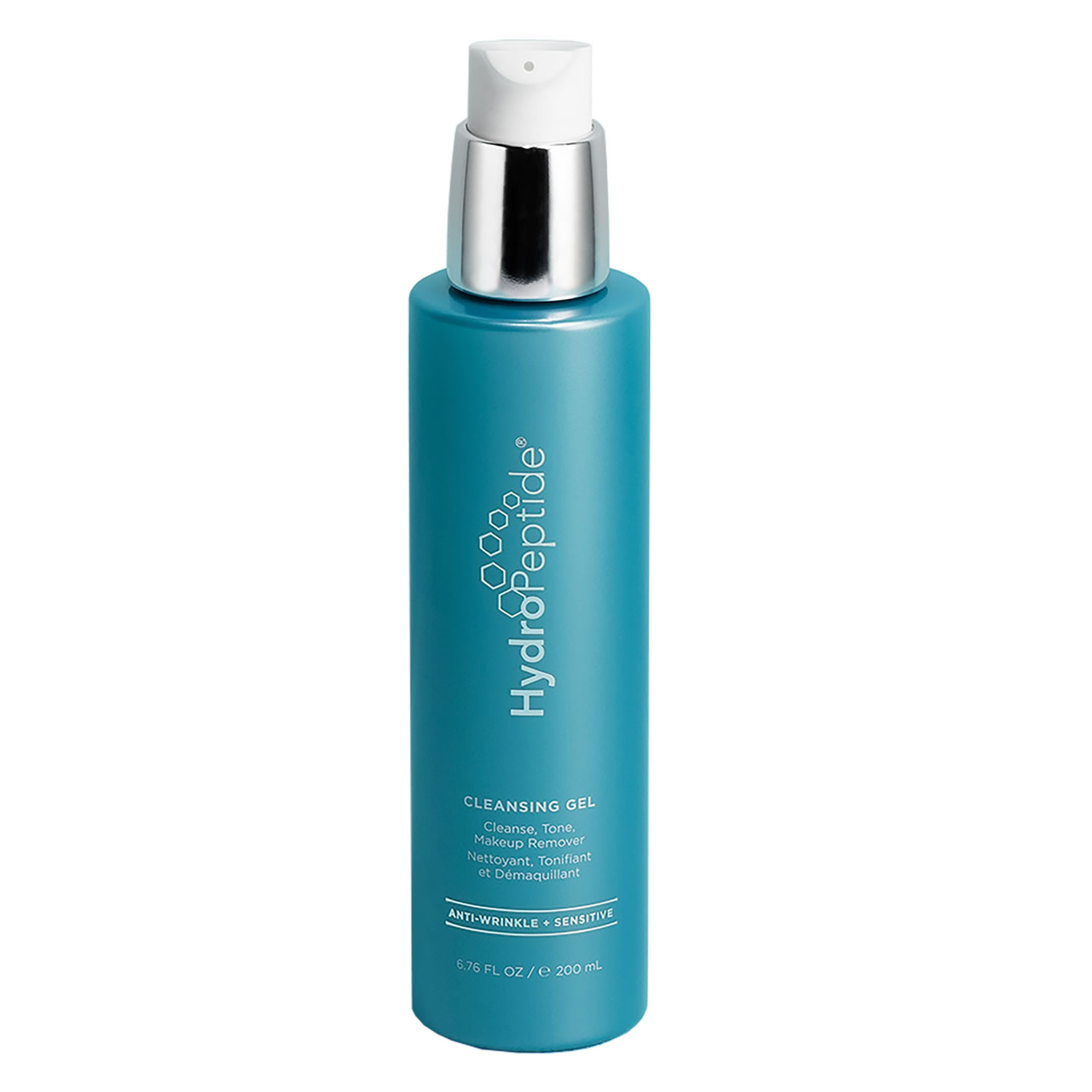 HydroPeptide CLEANSING GEL Cleanse, Tone, Makeup Remover (6.76 fl oz / 200 ml)