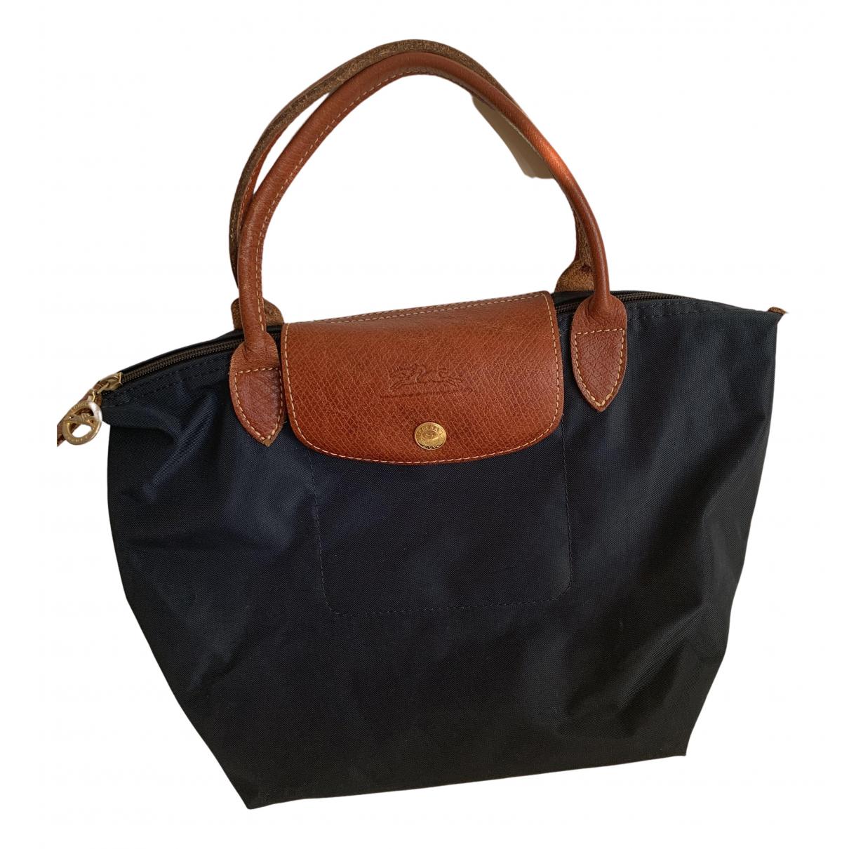 Longchamp - Sac a main   pour femme - marine