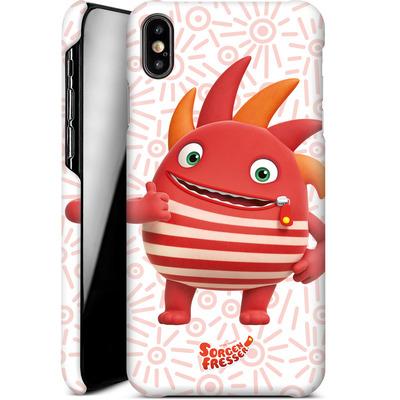 Apple iPhone XS Max Smartphone Huelle - Sorgenfresser Flamm von Sorgenfresser