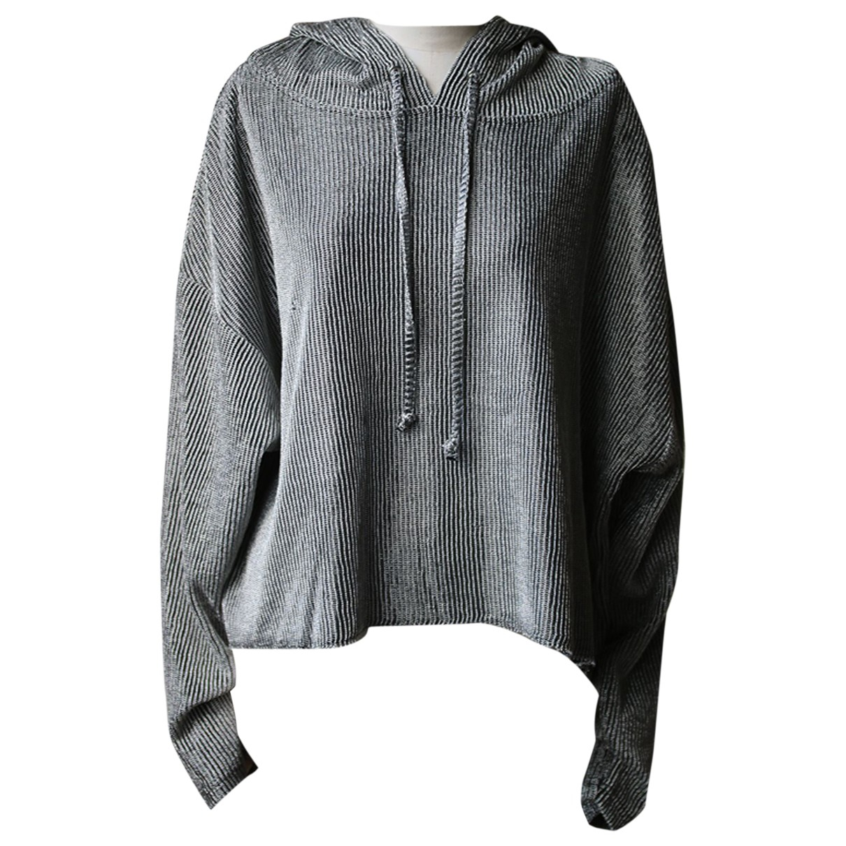 Rta \N Pullover in  Metallic Baumwolle