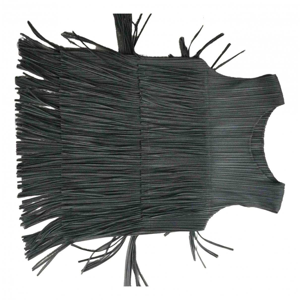Pleats Please \N Top in  Schwarz Polyester