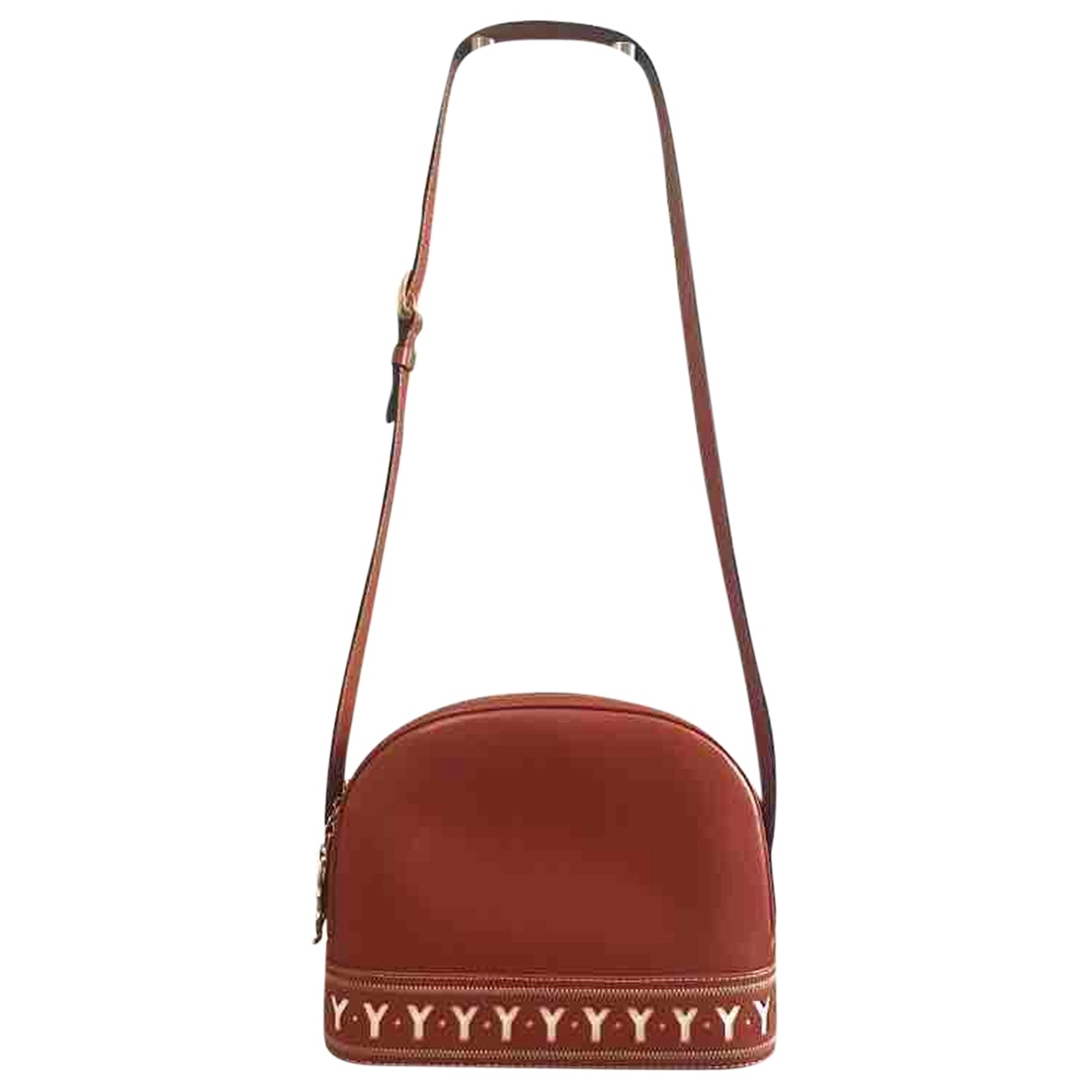 Yves Saint Laurent \N Camel Leather handbag for Women \N