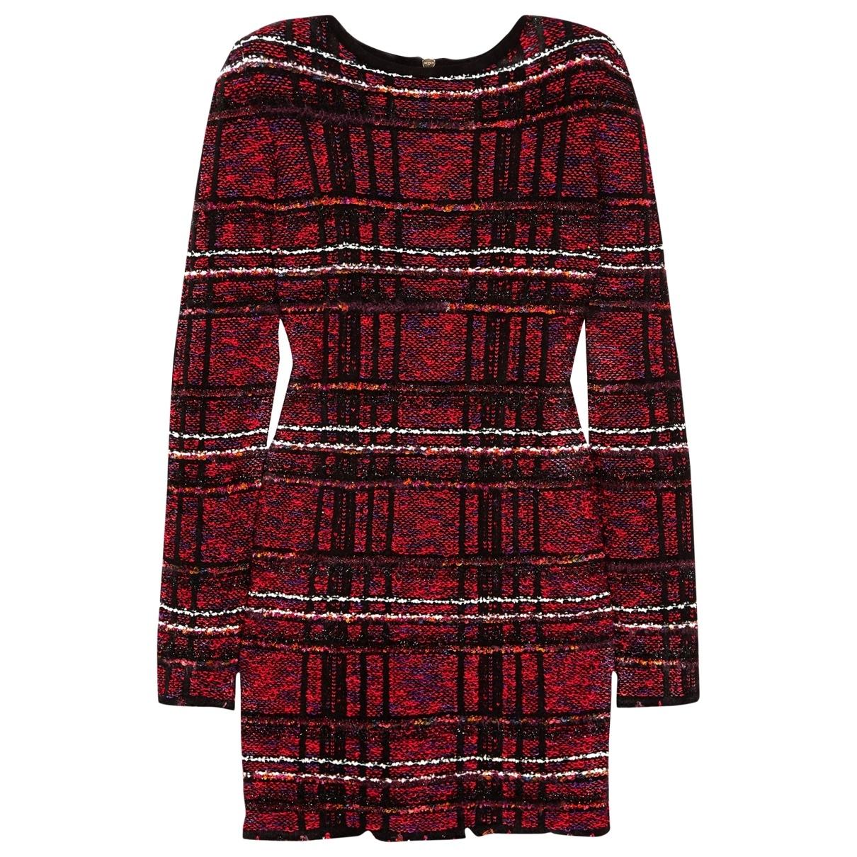 Balmain - Robe   pour femme en tweed - multicolore