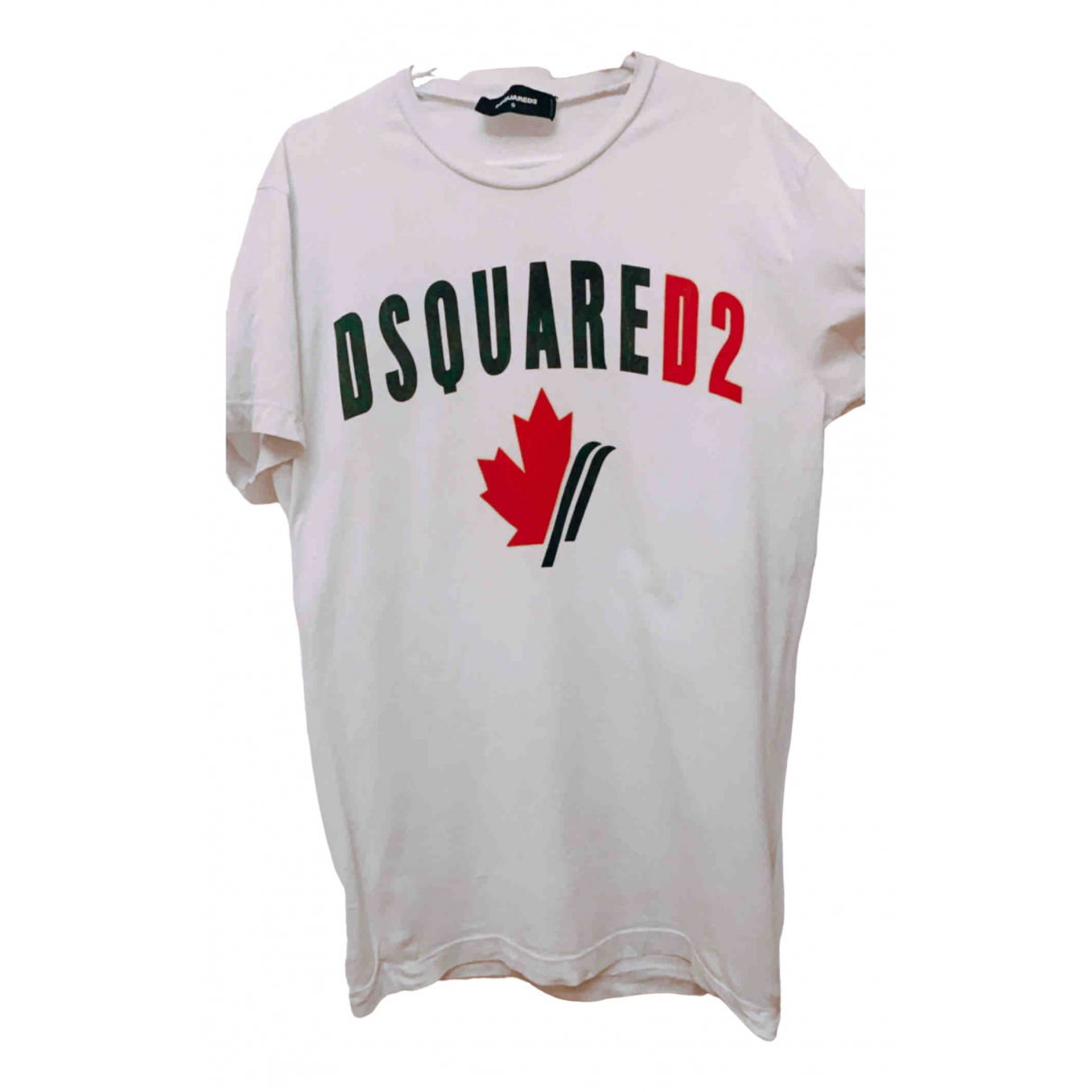 Dsquared2 N White Cotton T-shirts for Men S International