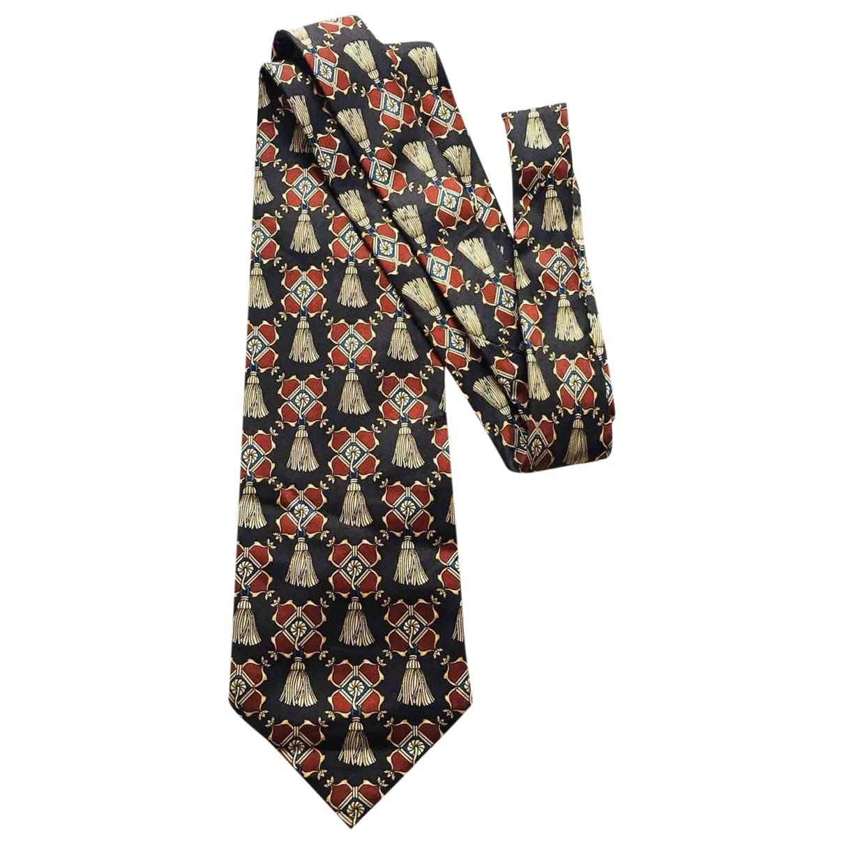 Fendi \N Black Silk Ties for Men \N