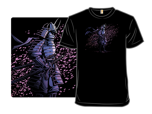 The Sakura Samurai T Shirt