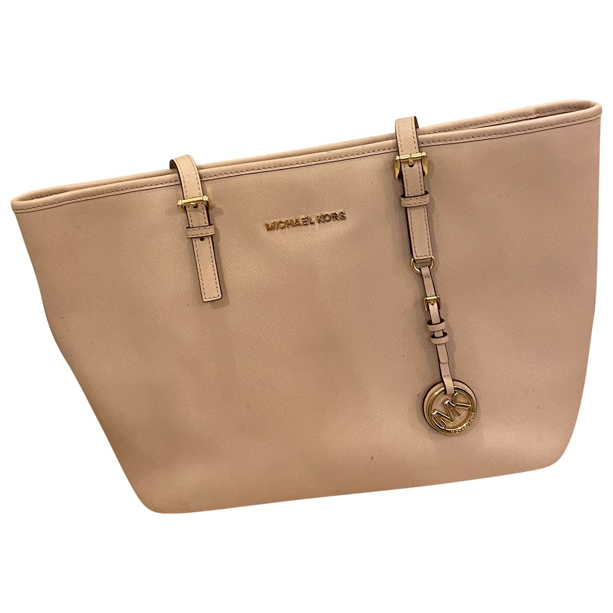 Michael Kors Jet Set Pink Leather handbag for Women N