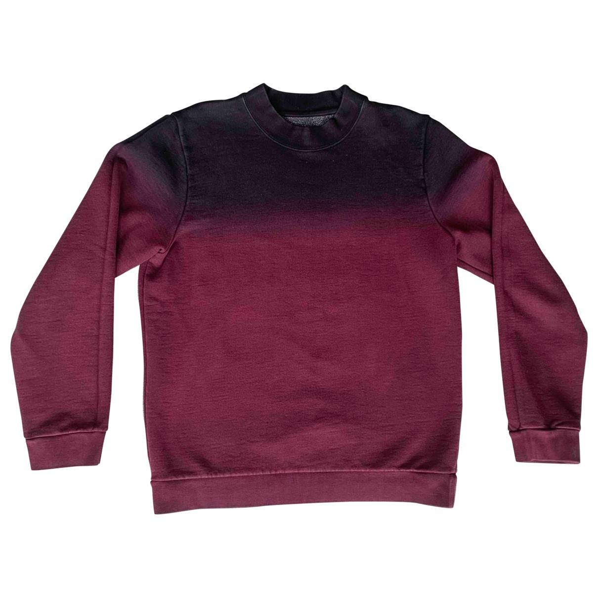 Raf Simons \N Burgundy Cotton Knitwear & Sweatshirts for Men M International
