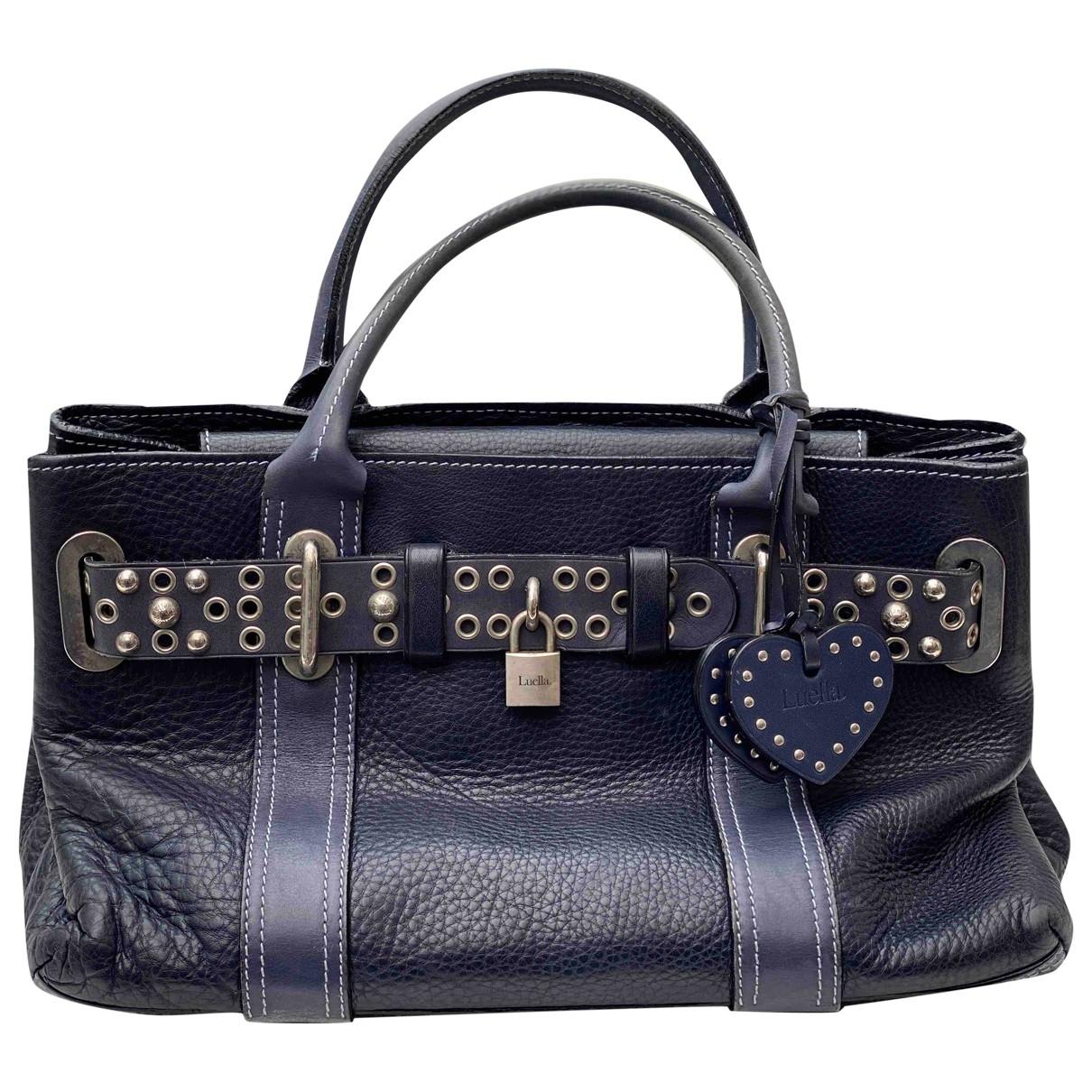 Luella \N Handtasche in  Blau Leder