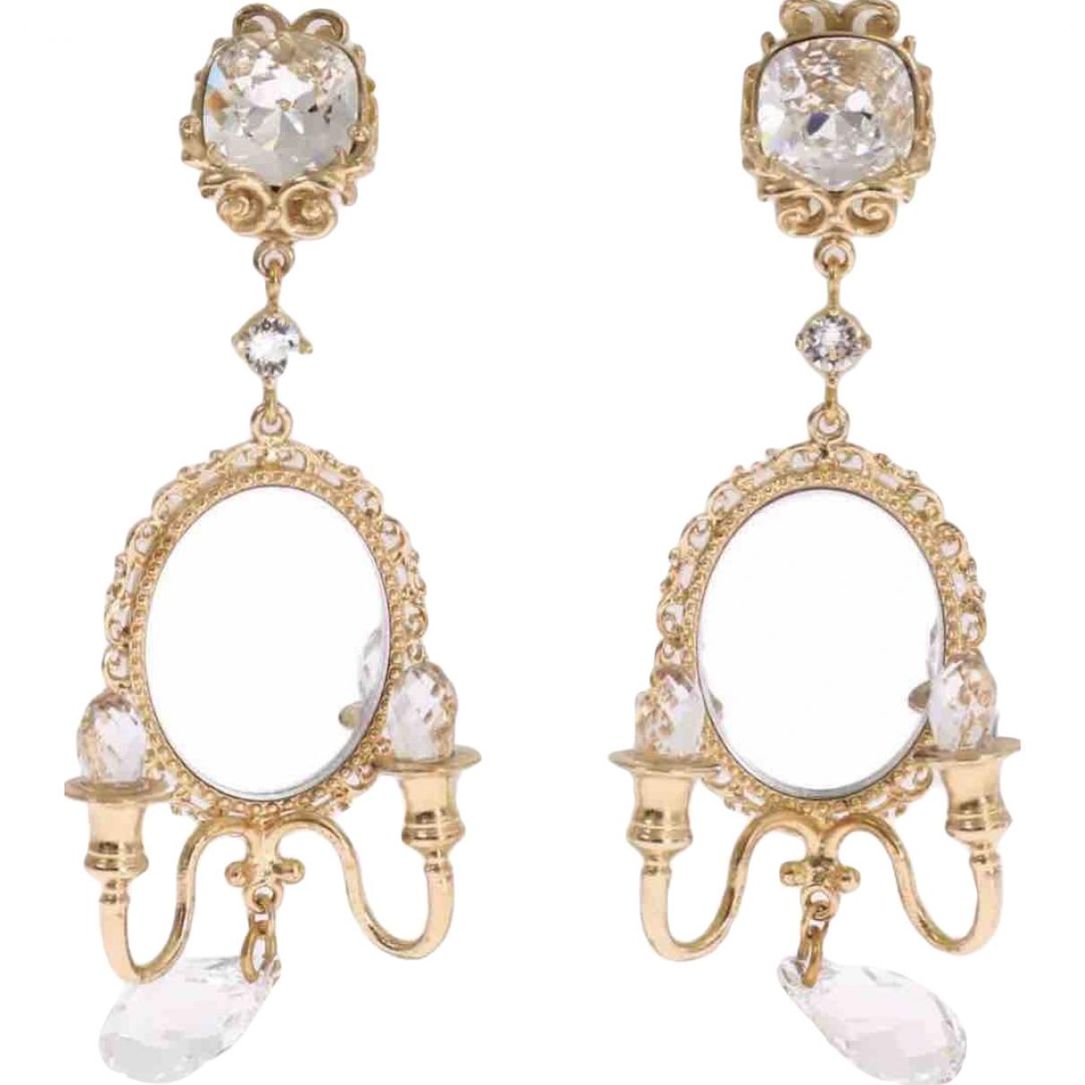 Dolce & Gabbana \N Gold Metal Earrings for Women \N