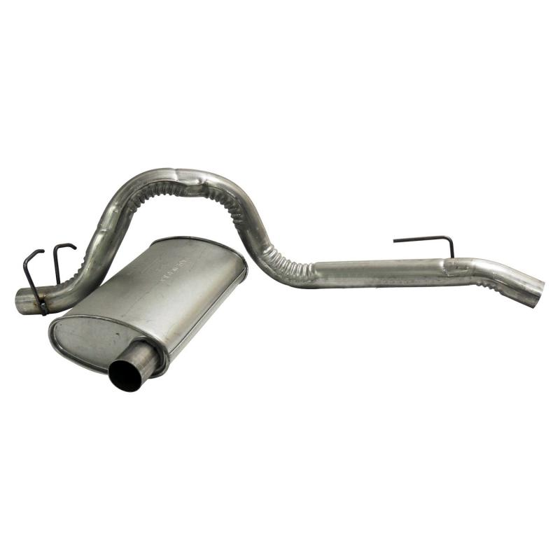 Crown Automotive 52019135 Jeep Replacement Muffler & Tailpipe, Silver, Metal Jeep Wrangler 1987-1995