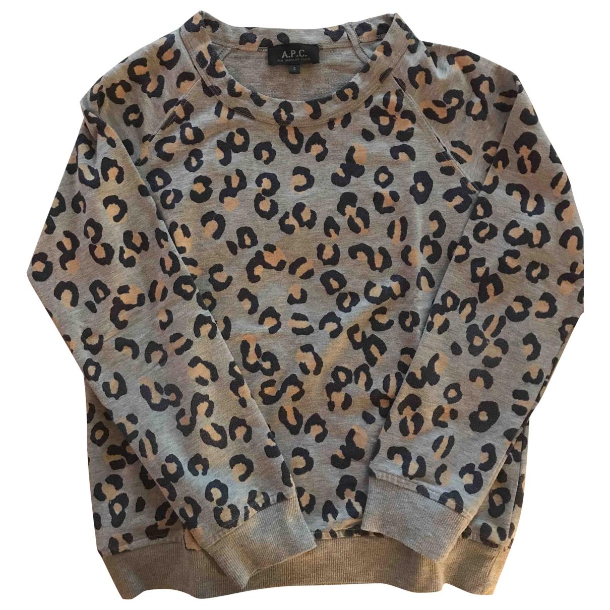 Apc \N Grey Cotton Knitwear for Women S International