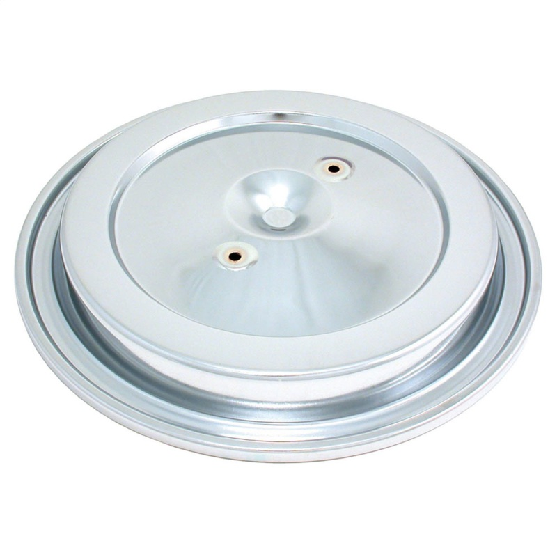 Spectre 4938 GM TBI Top Air Cleaner Lid (Dual Stud) - Chrome