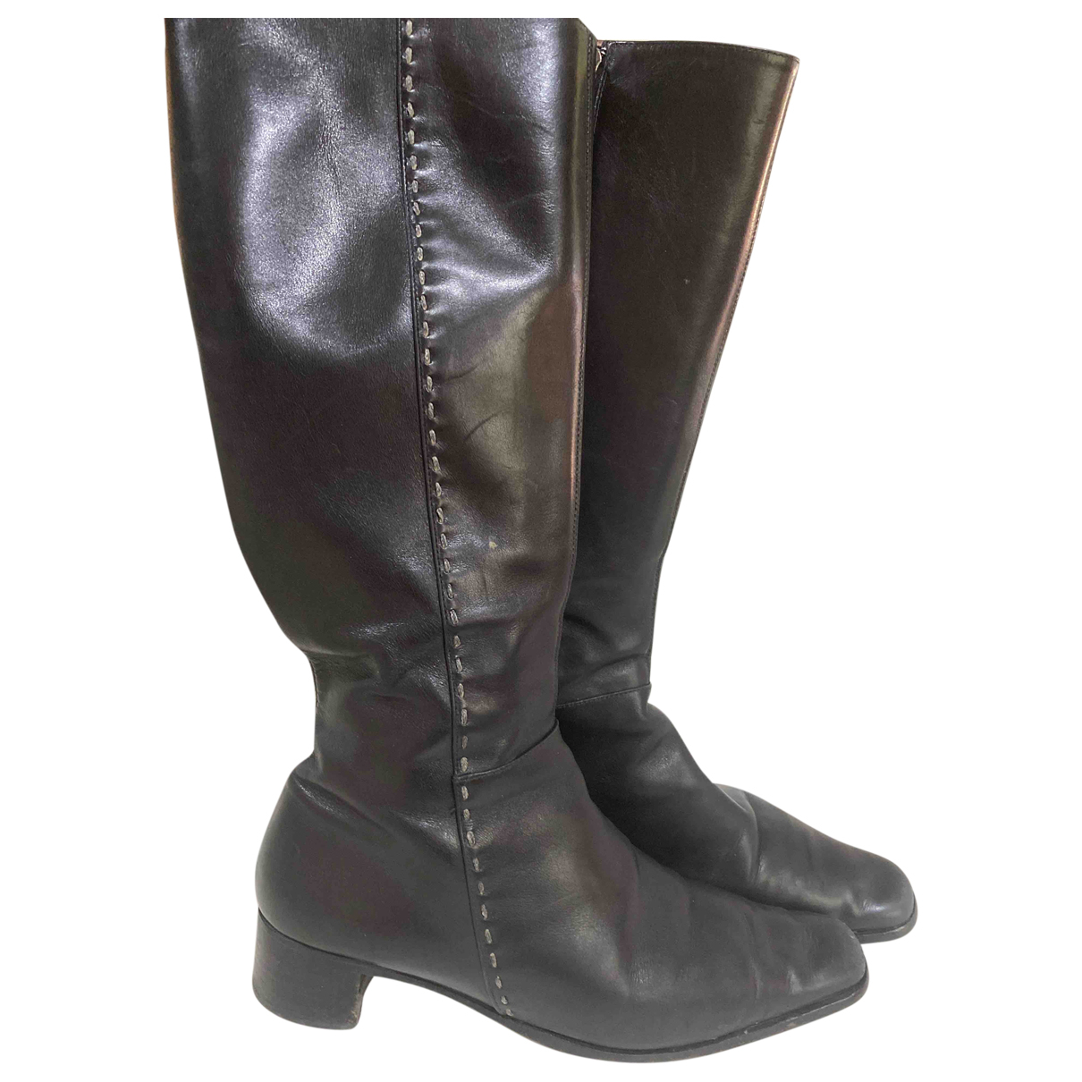 Fratelli Rossetti N Black Leather Boots for Women 38 IT