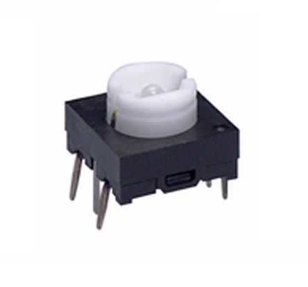 NKK Switches Short Tactile Switch, Single Pole Single Throw (SPST) 125 mA 3mm PCB (5)