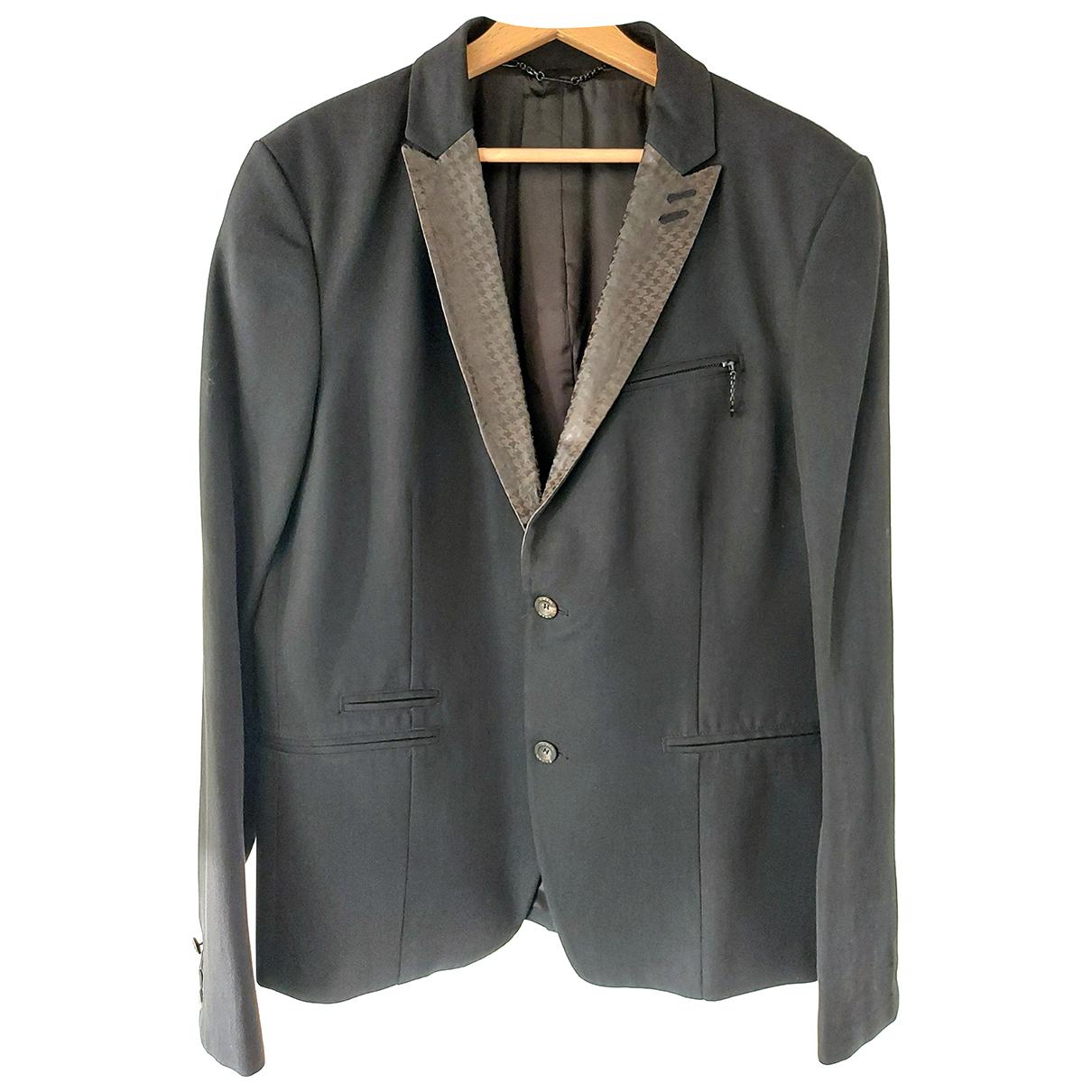 Diesel - Costumes   pour homme en laine - noir