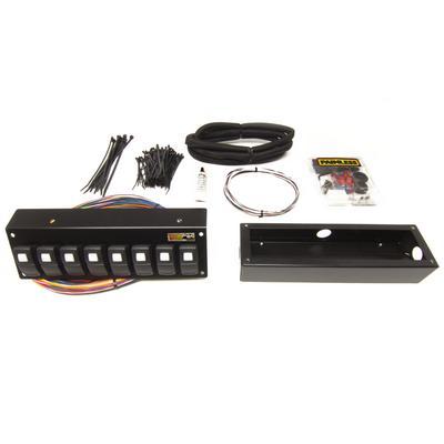 Painless Wiring Universal 8-Switch Trail Rocker (Flange Mount) - 57103