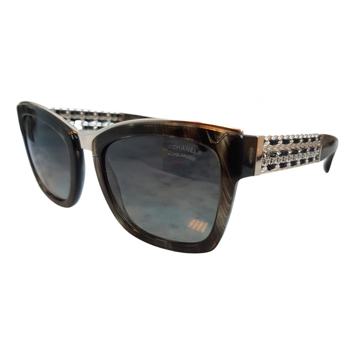 Chanel \N Anthracite Sunglasses for Women \N