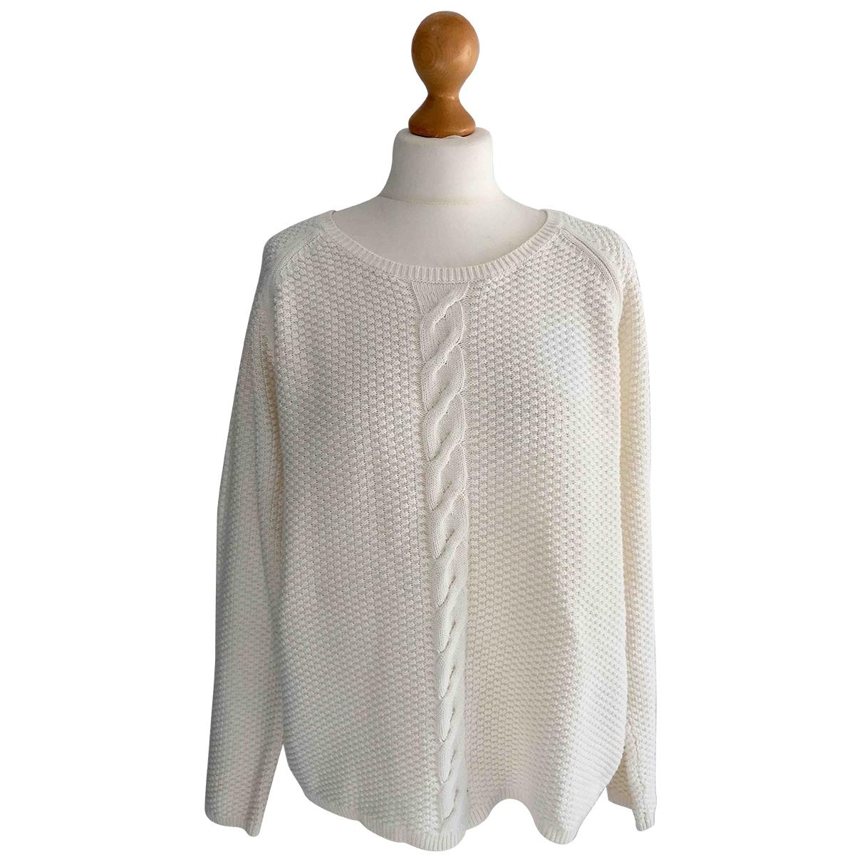 Tommy Hilfiger - Pull   pour femme en coton - blanc