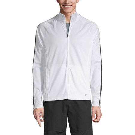 Xersion Lightweight Track Jacket, Medium , White