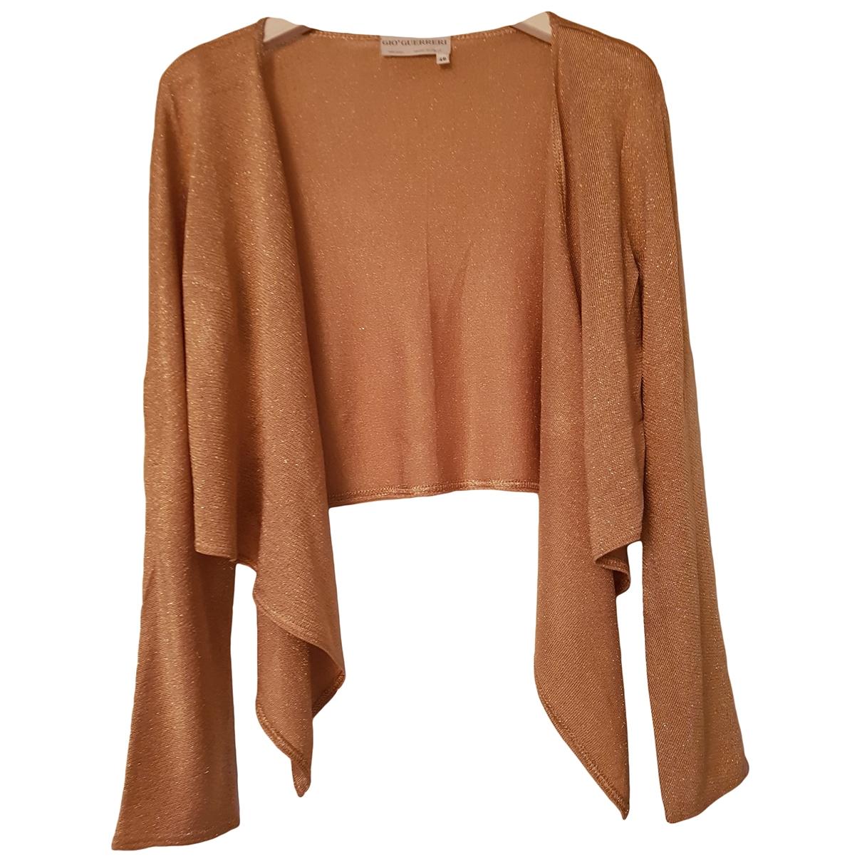 Gio Guerreri \N Pullover in  Metallic Polyester