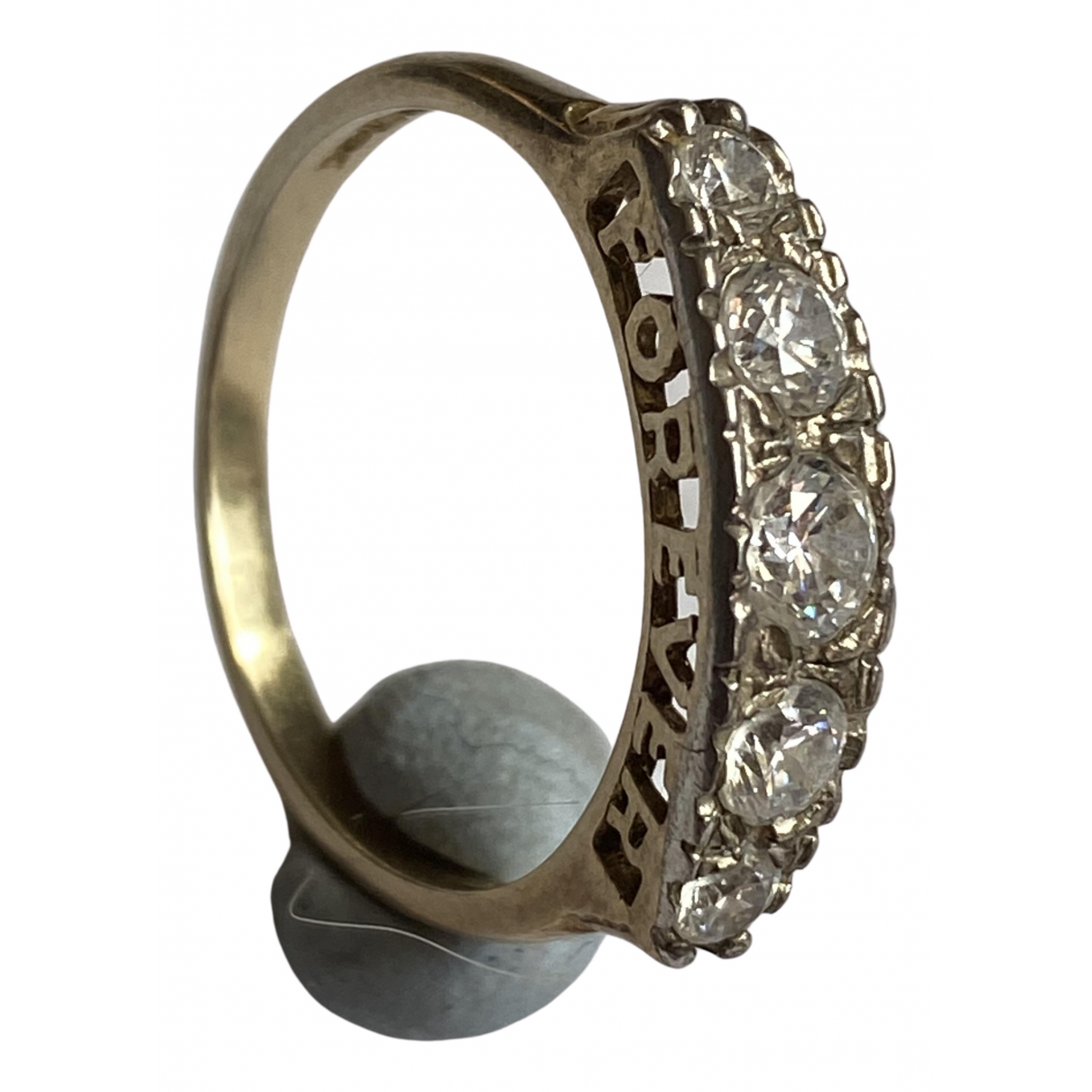 Non Signé / Unsigned \N Gold Silver ring for Women Z UK