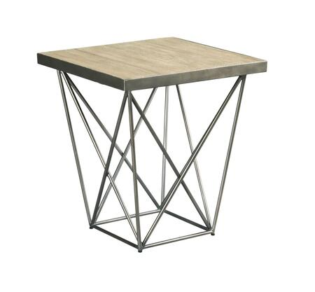 Rafters Collection 796-915 Rectangular End Table in Rustic Ash