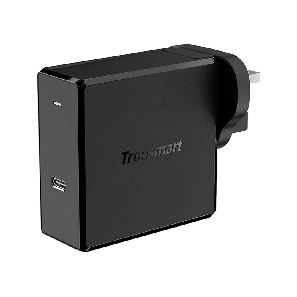 Tronsmart WCP02 60W USB-C Wall Charger with Power Delivery 3.0 for MacBook Air iPad Pro 2018 iPhone XS Max XR - UK Plug