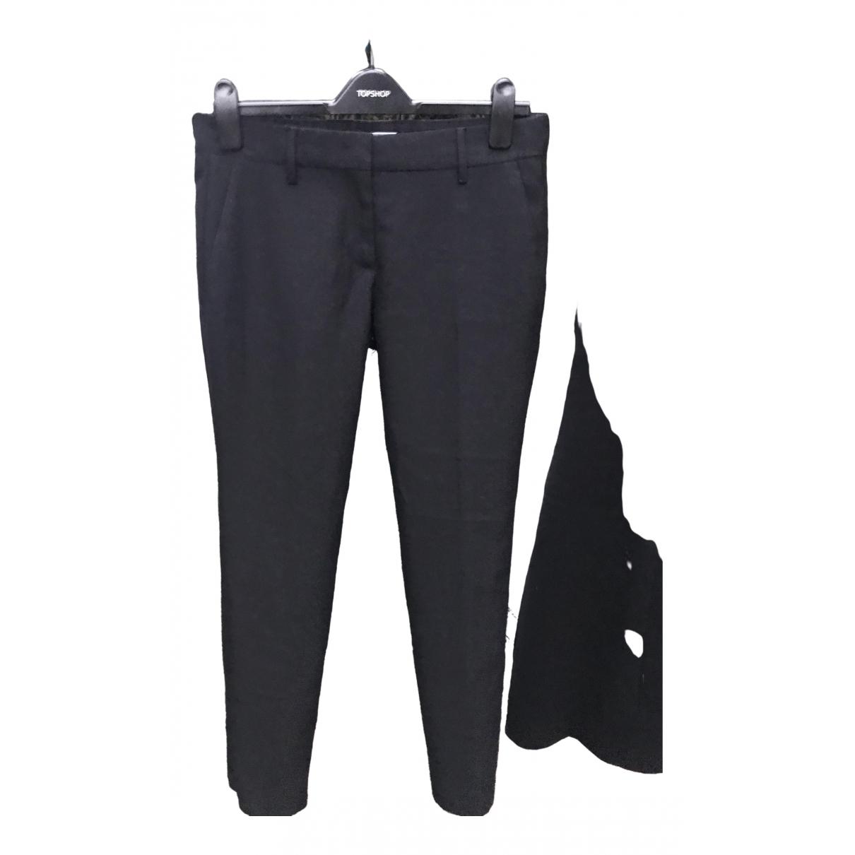 Prada \N Black Trousers for Women 40 IT