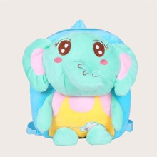Kids Cartoon Graphic Fluffy Backpack