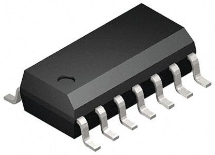 Toshiba 74HC74D Dual D Type Flip Flop IC, CMOS, 14-Pin SOIC (2500)