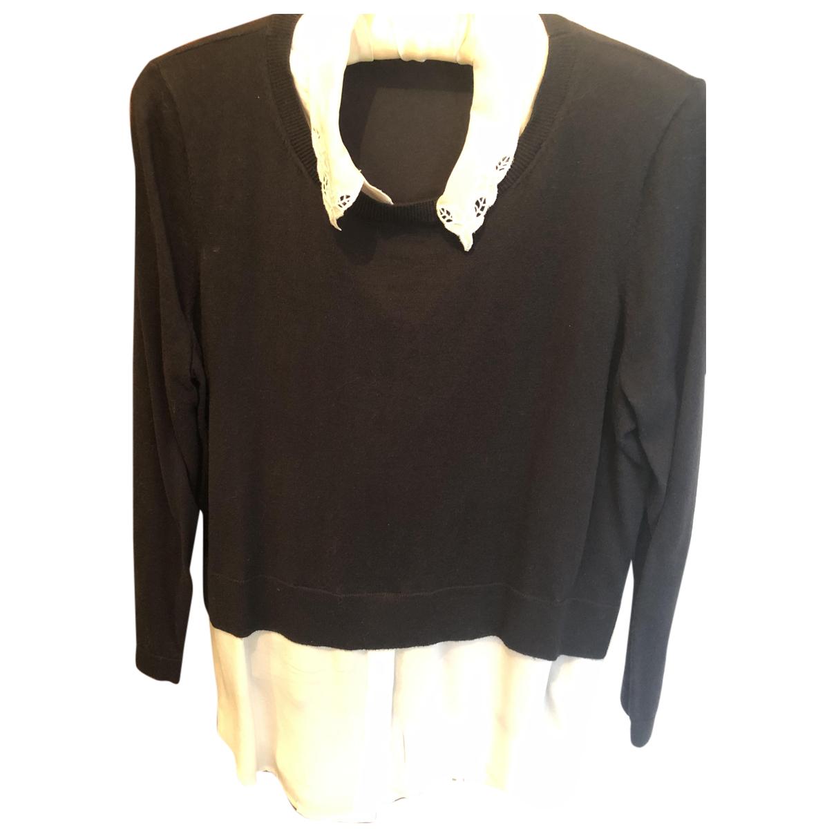 Claudie Pierlot - Pull Fall Winter 2019 pour femme en laine - noir