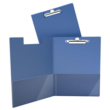 DavisGroup Essential Clipboard, 8-1/2 x 11 (Letter), 100-Sheet Capacity - Royal Blue