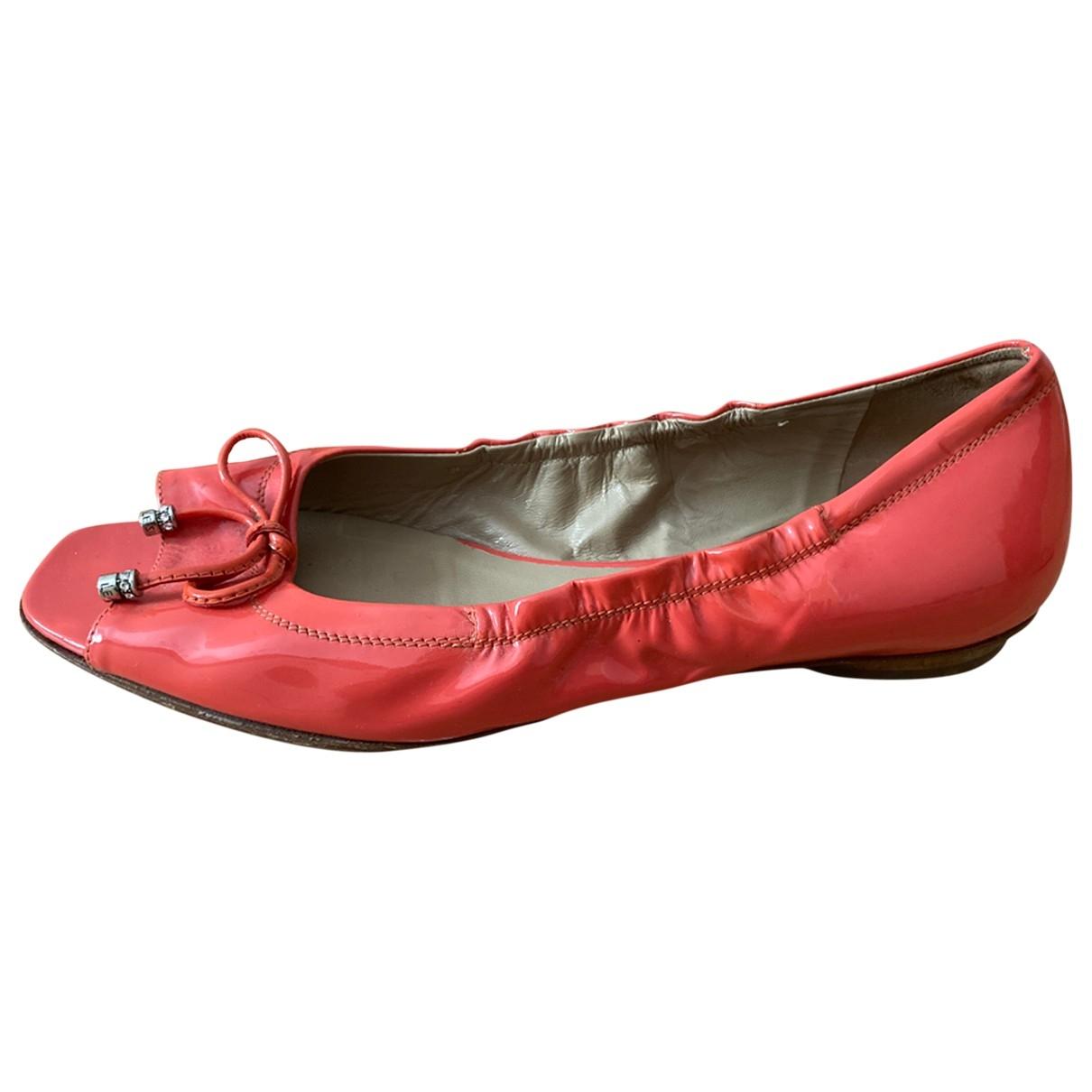 Le Silla \N Ballerinas in  Rosa Fell