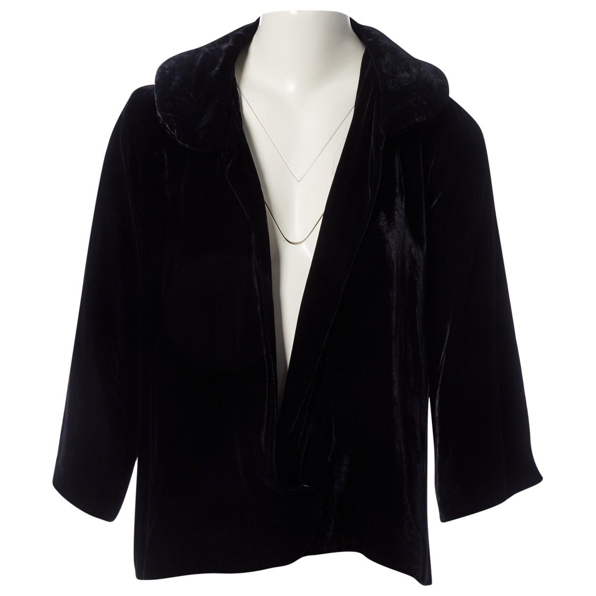 Isabel Marant \N Black Velvet jacket for Women 2 0-5