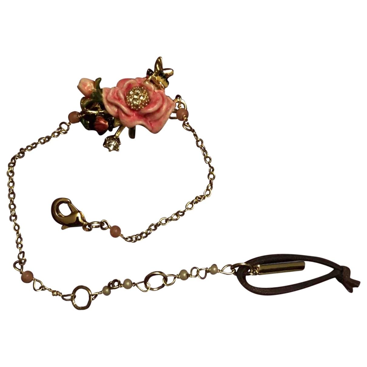 Les Nereides - Bracelet   pour femme en plaque or - rose
