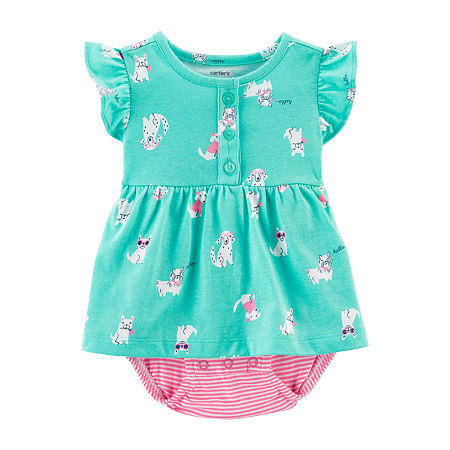 Carter's Baby Girls Bodysuit, 12 Months , Blue