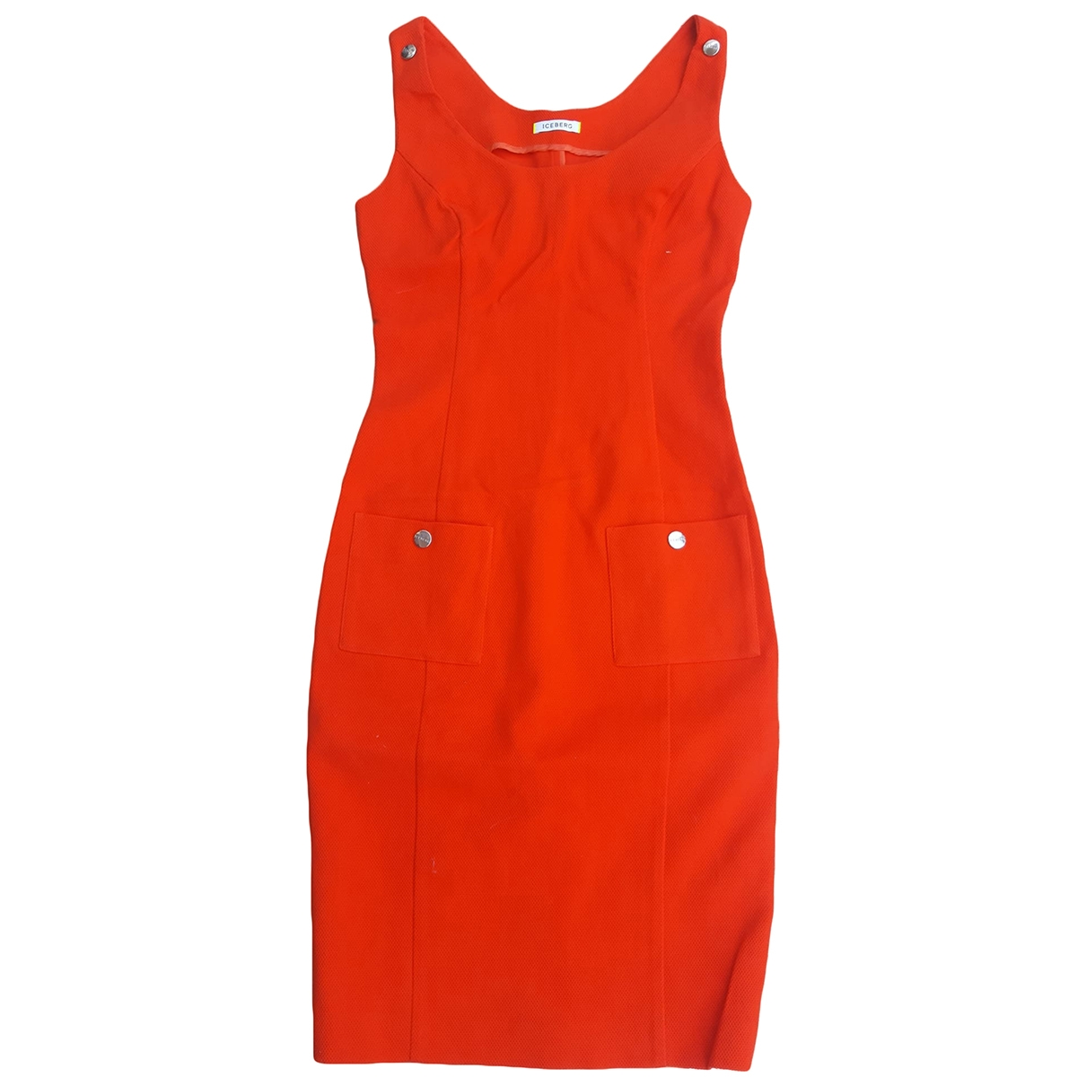 Iceberg \N Orange Cotton dress for Women 40 IT