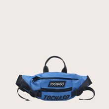 Boys Letter Graphic Fanny Pack
