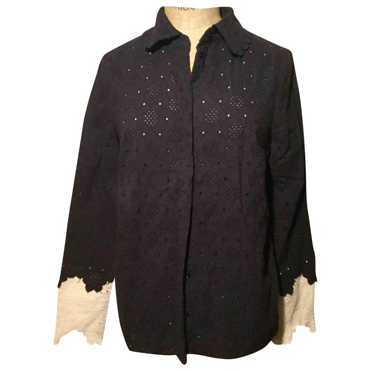 Manoush \N Navy Cotton  top for Women 36 FR
