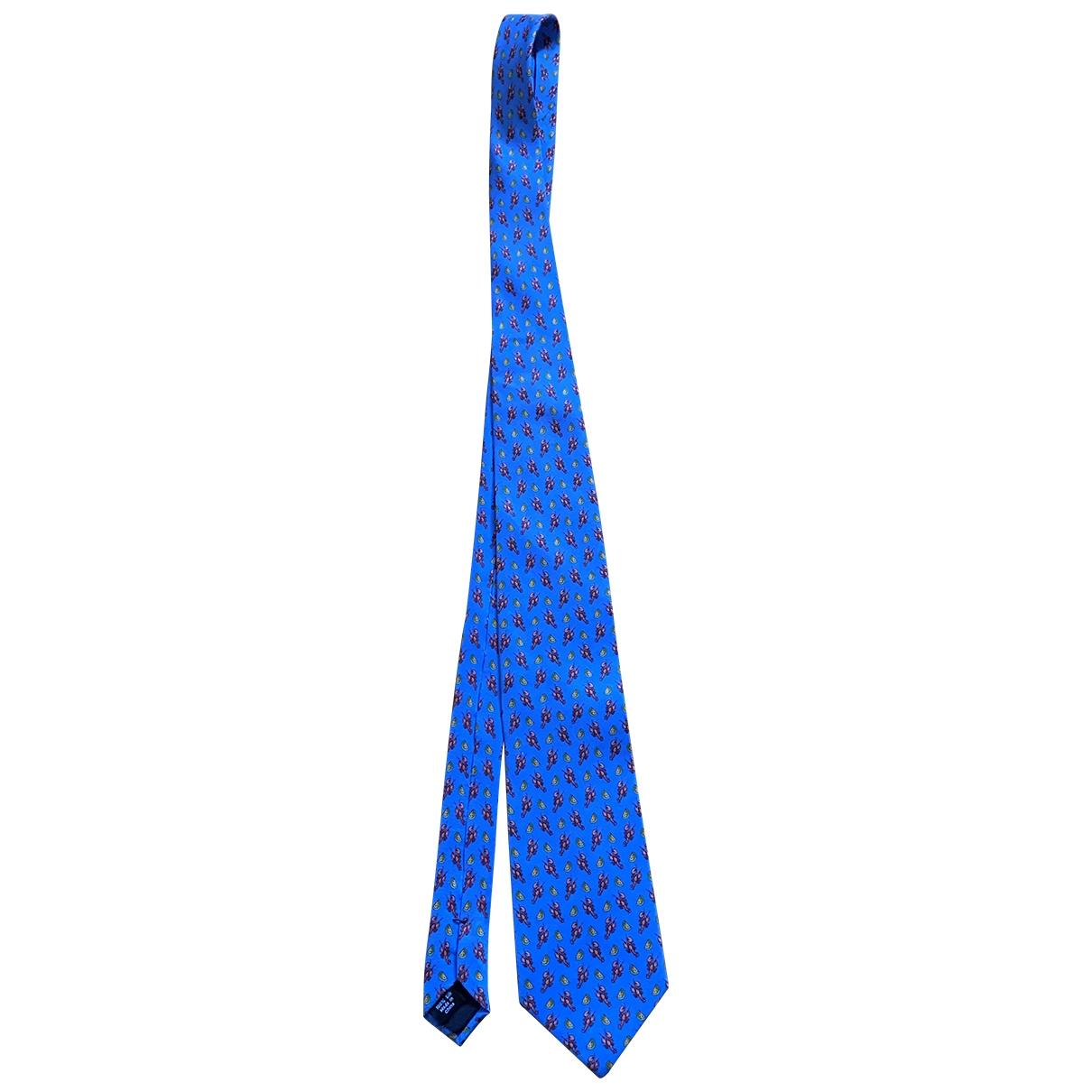 J.crew \N Krawatten in  Blau Baumwolle