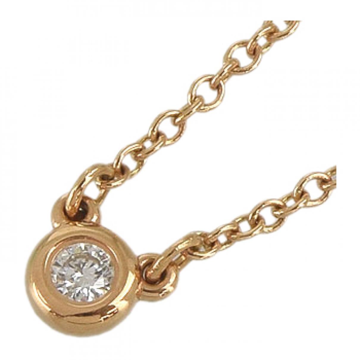 Tiffany & Co \N Kette in  Gold Rosegold